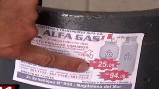 Sepa dónde encontrar el balón de gas doméstico más económico de Lima