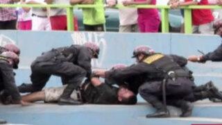 La Victoria: sujeto intenta suicidarse arrojándose de puente en la Av. México