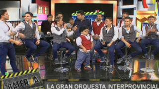 Christian Domínguez y la Gran Orquesta Internacional en La Batería