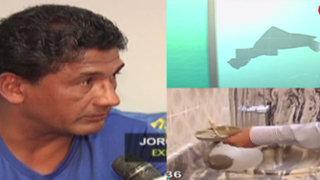 Exfutbolista Arteaga acusa a firma de abogados por no pagar alquiler y destruir su casa