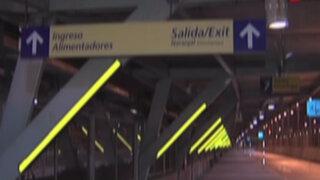 Realizan trabajos de mantenimiento en estación Naranjal de Metropolitano