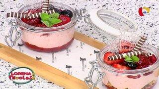 Prepara un delicioso trifle de frutos rojos con esta fácil receta