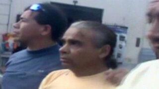 Centro de Lima: capturan a sujeto que estafó a viuda de ex ministro Antonio Brack