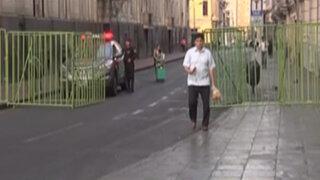Disponen fuerte contingente policial para controlar marchas contra 'Ley pulpín'