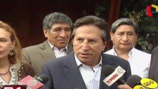 Alejandro Toledo saluda derogatoria de Régimen Laboral Juvenil