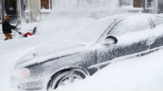 Alerta en la costa este de Estados Unidos por megatormenta de nieve