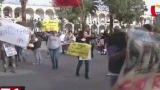 Jóvenes celebraron derogatoria de ley laboral juvenil en el interior del país