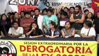 Jóvenes anuncian marcha apoyando a trabajadores textiles
