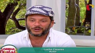 Lucho Cáceres nos cuenta cómo fueron sus inicios en la actuación