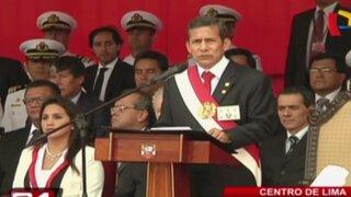 Presidente Humala preside ceremonia del primer aniversario del fallo de La Haya