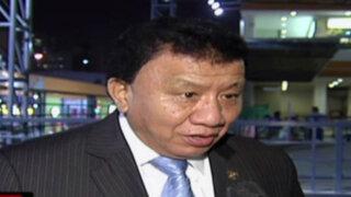 """Enrique Wong: visita de Castillo al Congreso es """"altamente constructiva"""""""