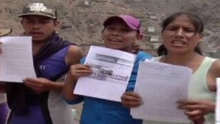 SJL: acusan a presunta traficante de terrenos por atacar viviendas con matones