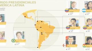 Revelan cuanto ganan los presidentes de América Latina