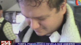 Perfil psicológico revela que asesino de Rubén Leiva tenía conducta depresiva