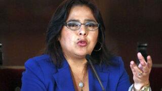 Ana Jara se pronuncia sobre situación de Ollanta Humala y Nadine Heredia