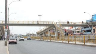 ¡Atención!: Estos son los puentes peatonales clausurados en la Costa Verde