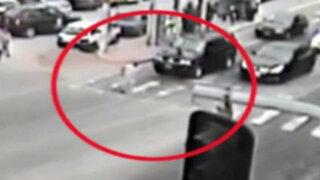 Cámaras registran accidentes en La Molina y Jesús María