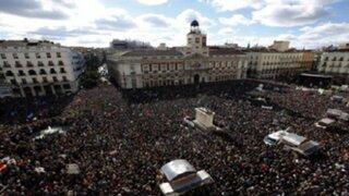 España: miles de personas participan en la 'Marcha del Cambio'