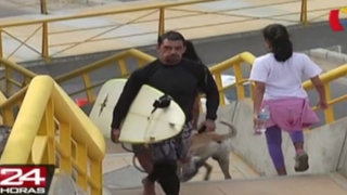 Costa Verde: habilitan dos puentes peatonales para veraneantes