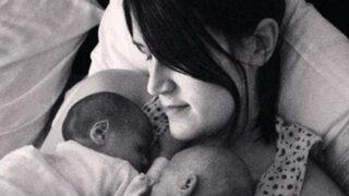 Inglaterra: nació siendo 'hombre' y dio a luz mellizos