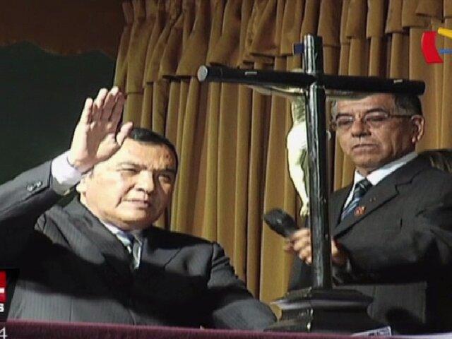Augusto Miyashiro juramentó por quinta vez como alcalde de Chorrillos