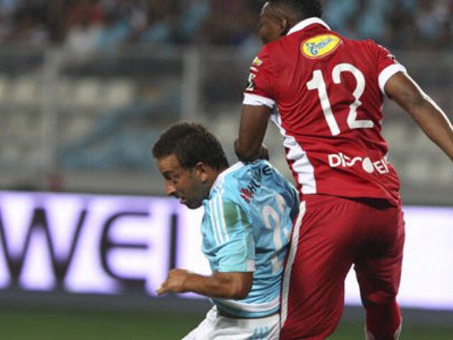Sporting Cristal igualó 2-2 con LDU en la 'Noche de la Raza Celeste'