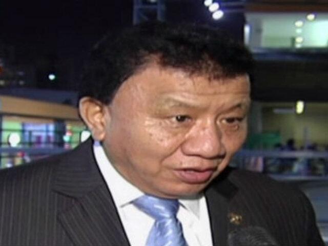 """Wong: """"En esta Mesa Directiva estamos dispuestos a apoyar al presidente"""""""