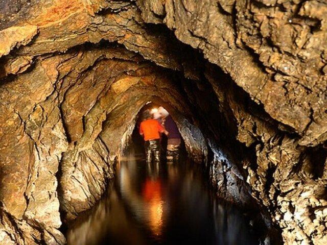 FOTOS: el increíble secreto que esconde esta mina abandonada te dejará maravillado