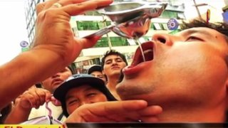El reto del ácido: limeños se someten a difícil prueba con limón peruano