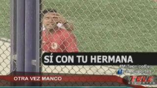 La última de Reimond Manco: insultó a los hinchas en el Municipal vs. León