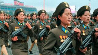 Corea del Norte impone servicio militar obligatorio a mujeres de entre 17 y 20 años