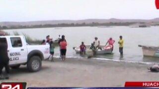 Hombre muere ahogado en laguna La Encantada en Huacho