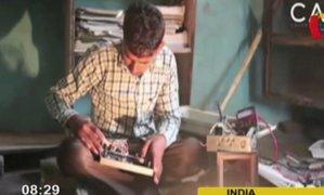 India: joven sorprende con habilidad para soportar 11 mil voltios