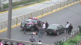 Mujer queda grave tras ser atropellada por auto en Independencia