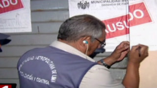 Sorpresivo operativo en pizzerías del Centro de Lima