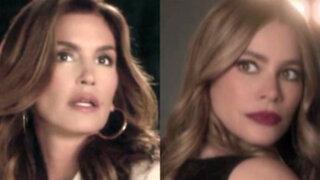 Espectáculo internacional: Cindy Crawford y Sofía Vergara se enfrentan en comercial