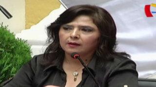 Ana Jara resalta lucha contra corrupción en reunión del Acuerdo Nacional