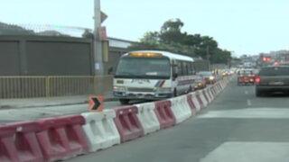 Rutas de Lima cierra Av. Allende por obras del intercambio Benavides