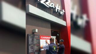La Molina: clausuran otro local de conocida pizzería tras encontrar insectos muertos