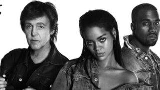 Espectáculo internacional: Rihanna lanza video con Paul McCartney y Kanye West