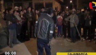 Cajamarca: ladrón fue castigado a latigazos por robar un artefacto