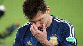 """Messi sobre la final perdida ante Alemania: """"Nos vamos a arrepentir toda la vida"""""""