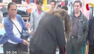 Rondas urbanas castigan a latigazos a presunta ladrona en Cajamarca