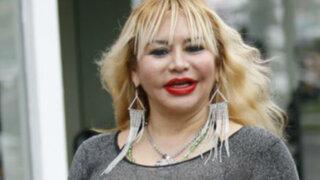Susy Díaz celebró cumpleaños con 'Mero Loco' y Bruno Rocha