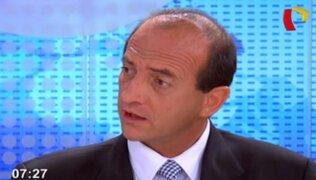 """Juan Carlos Eguren: """"Deben hacerse cambios en el Gabinete antes de segundo diálogo"""""""