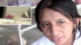 Ica: mujer que golpeó salvajemente a su hija no está arrepentida