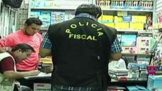 Campaña escolar: decomisan útiles tóxicos en el Cercado de Lima