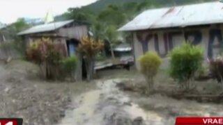Ayacucho: huaico deja 40 familias afectadas en el Vraem