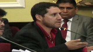 Paredes Terry dijo que nacionalismo pagaba a empleados de Belaunde Lossio