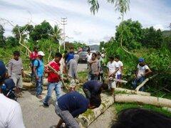 Pobladores de Pichanaki suspendieron paro indefinido hasta el 19 de febrero